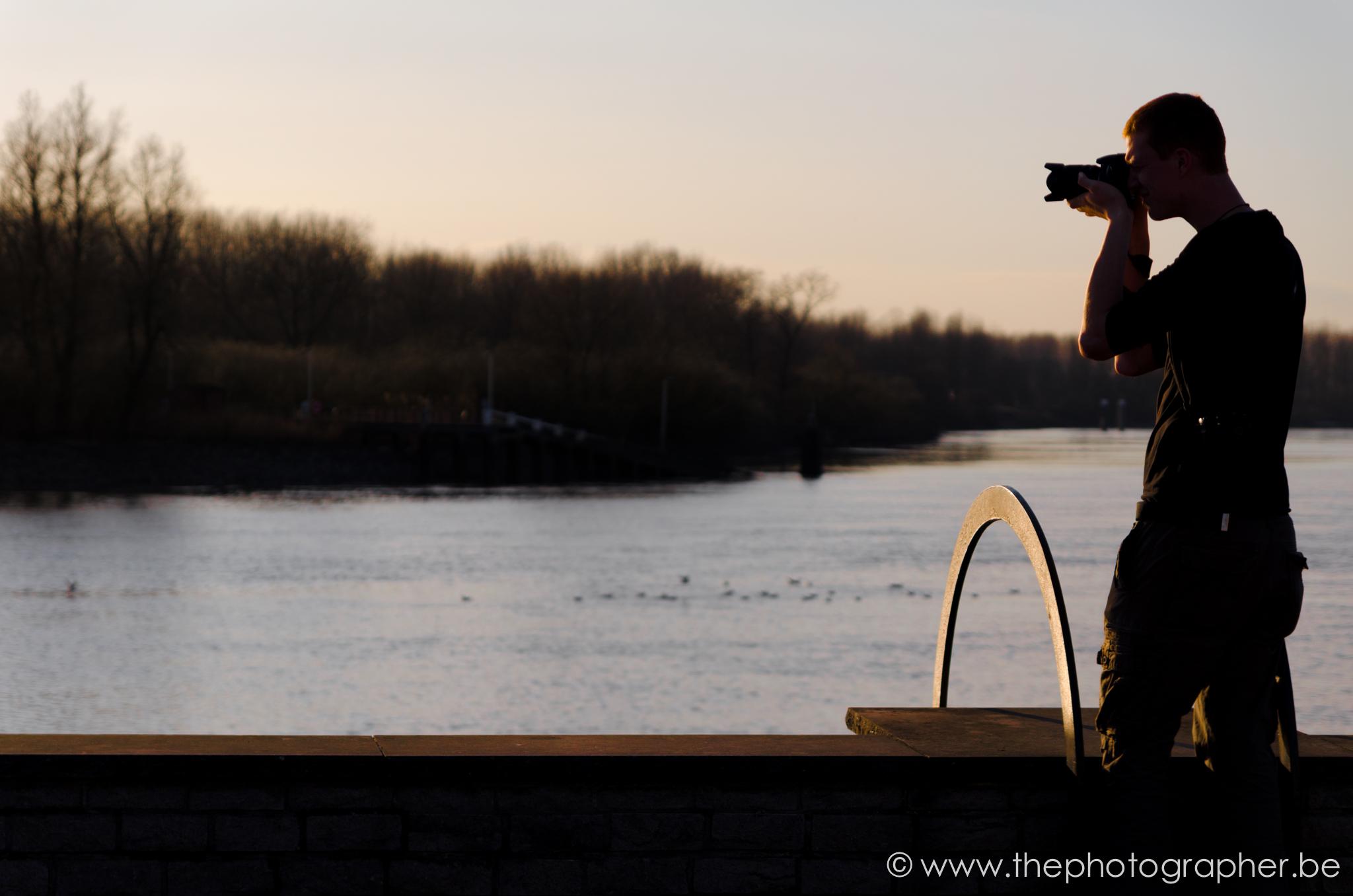 fotograaf portret landschap sint amands schelde zonsondergang 20120311