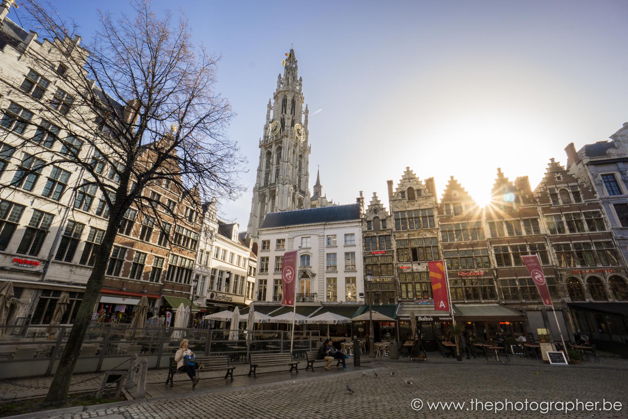 de Grote Markt van Antwerpen