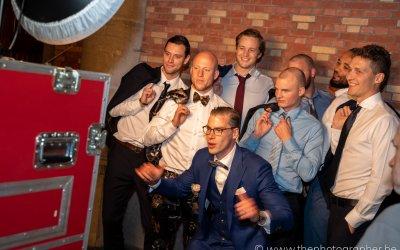 Plezier op je huwelijk voor een photobooth