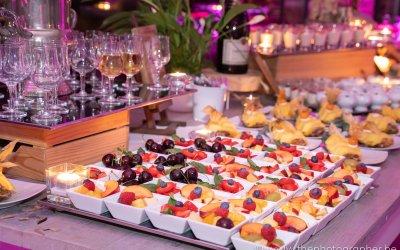 Een prachtig en lekker dessertbuffet op je huwelijk