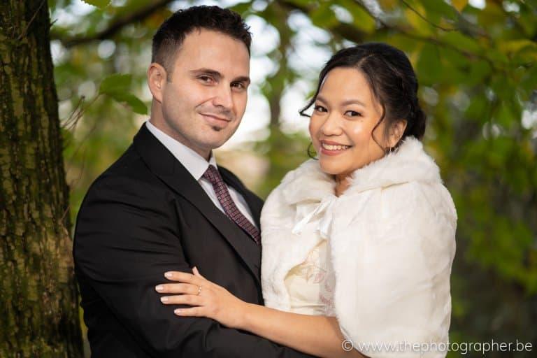 Huwelijk Lesley en Gunes