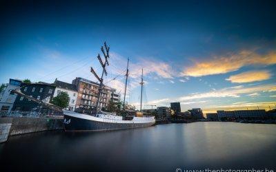 Een boot voor de 'Dag van de Zeevaarder'