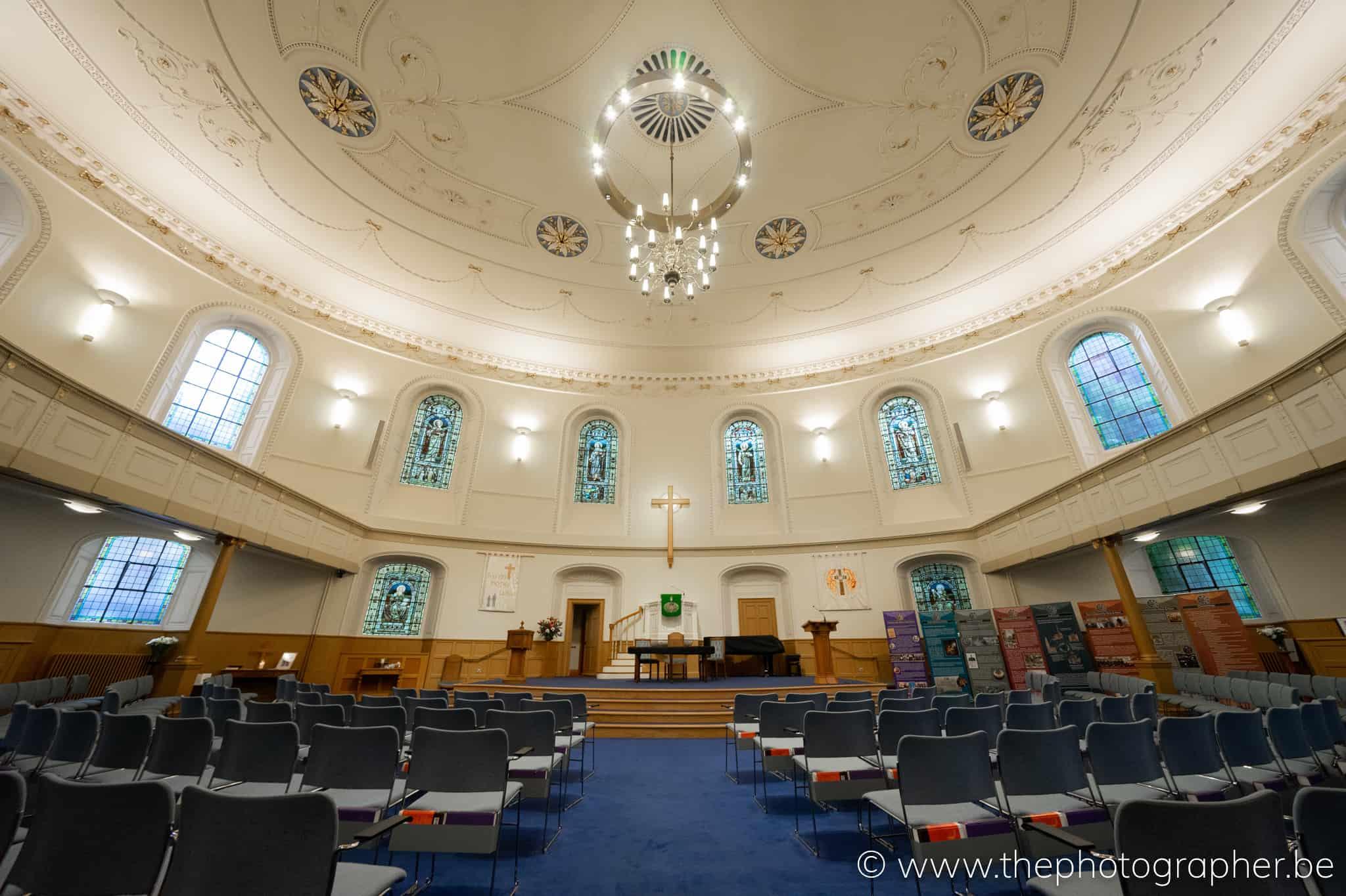 Foto van de kerk St Andrew's and St George's West in Edinburgh Schotland