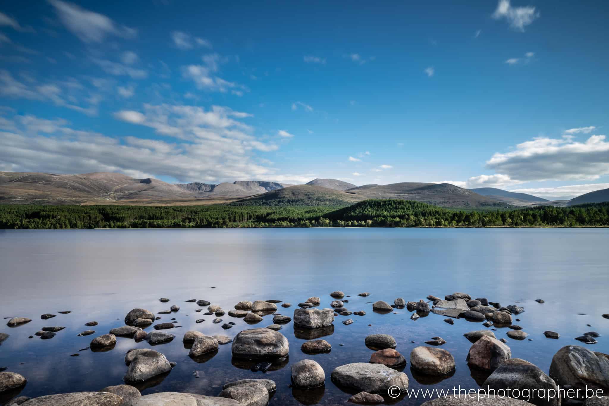 Loch Alvie, Inverness, Schotland