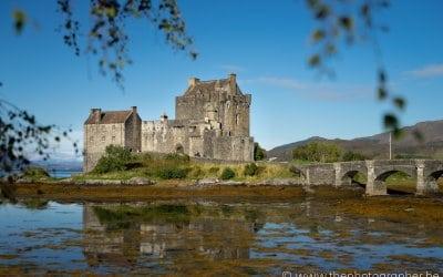 Het prachtige kasteel Eilean Donan in Schotland