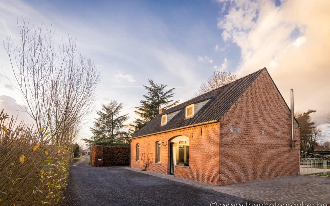 Vastgoedfotograaf voor boerderij in Antwerpse Kempen