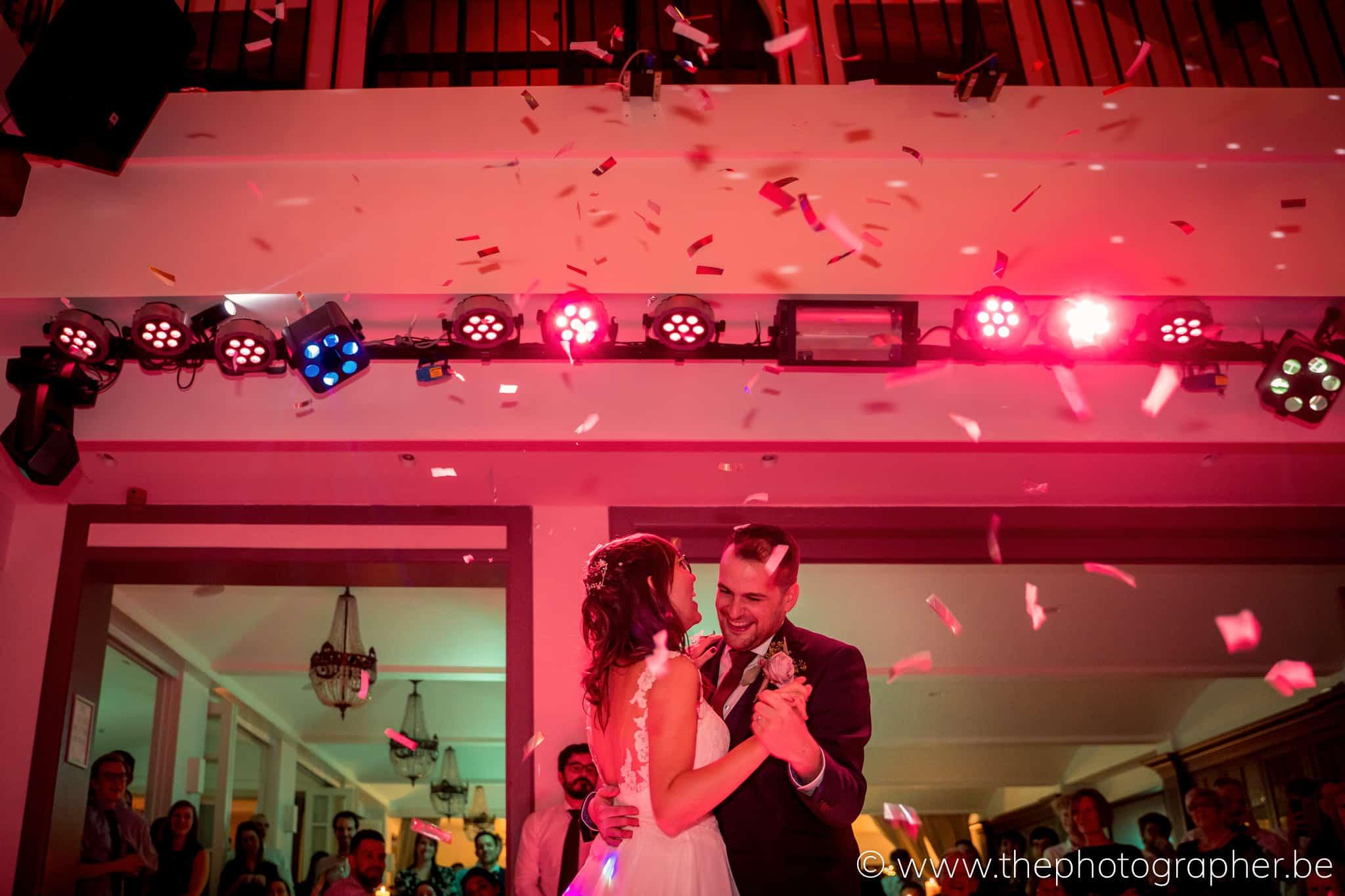Huwelijk Jill en Dries