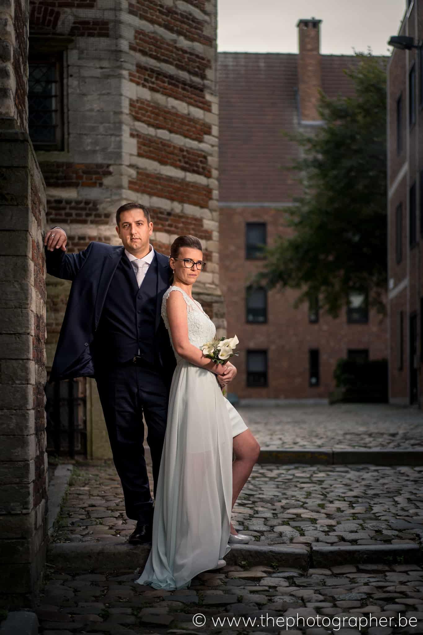 Huwelijk Kim en Tom