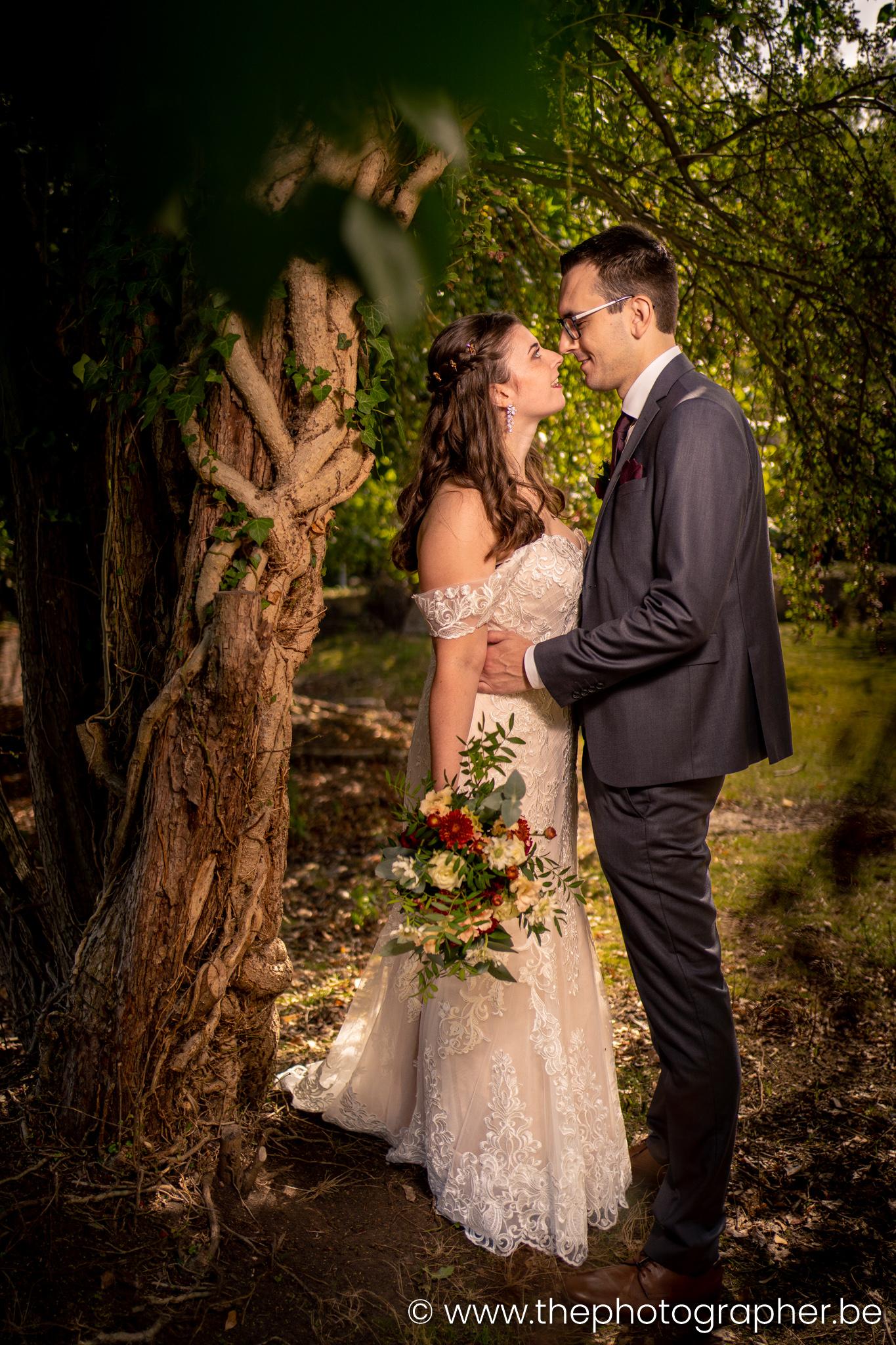Huwelijk Elly en Raf