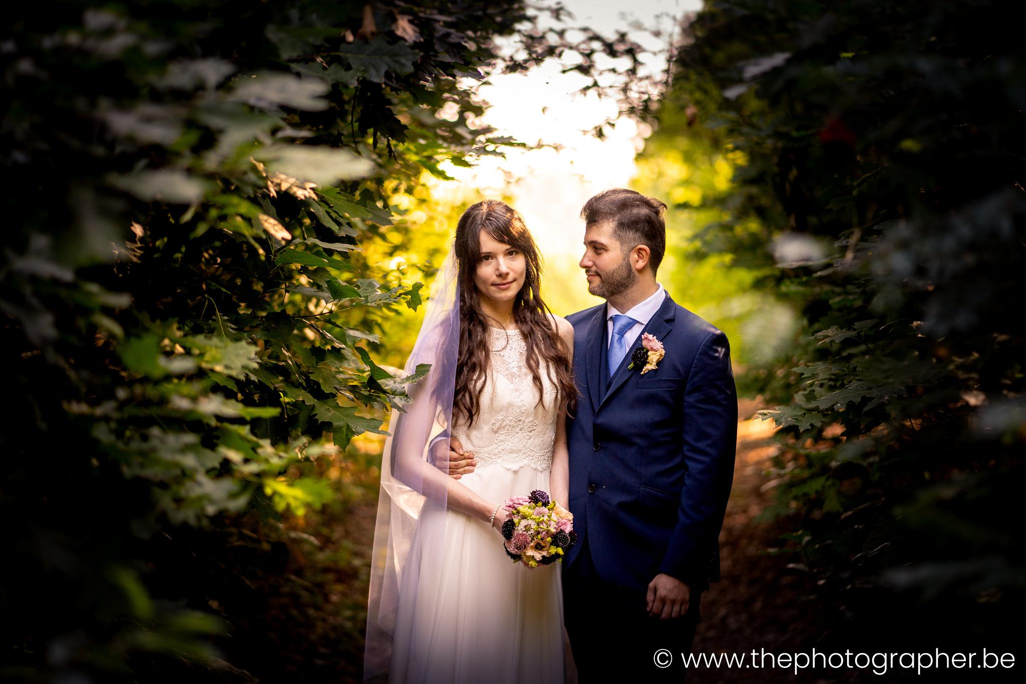 Huwelijk Nathalie en Andreeas