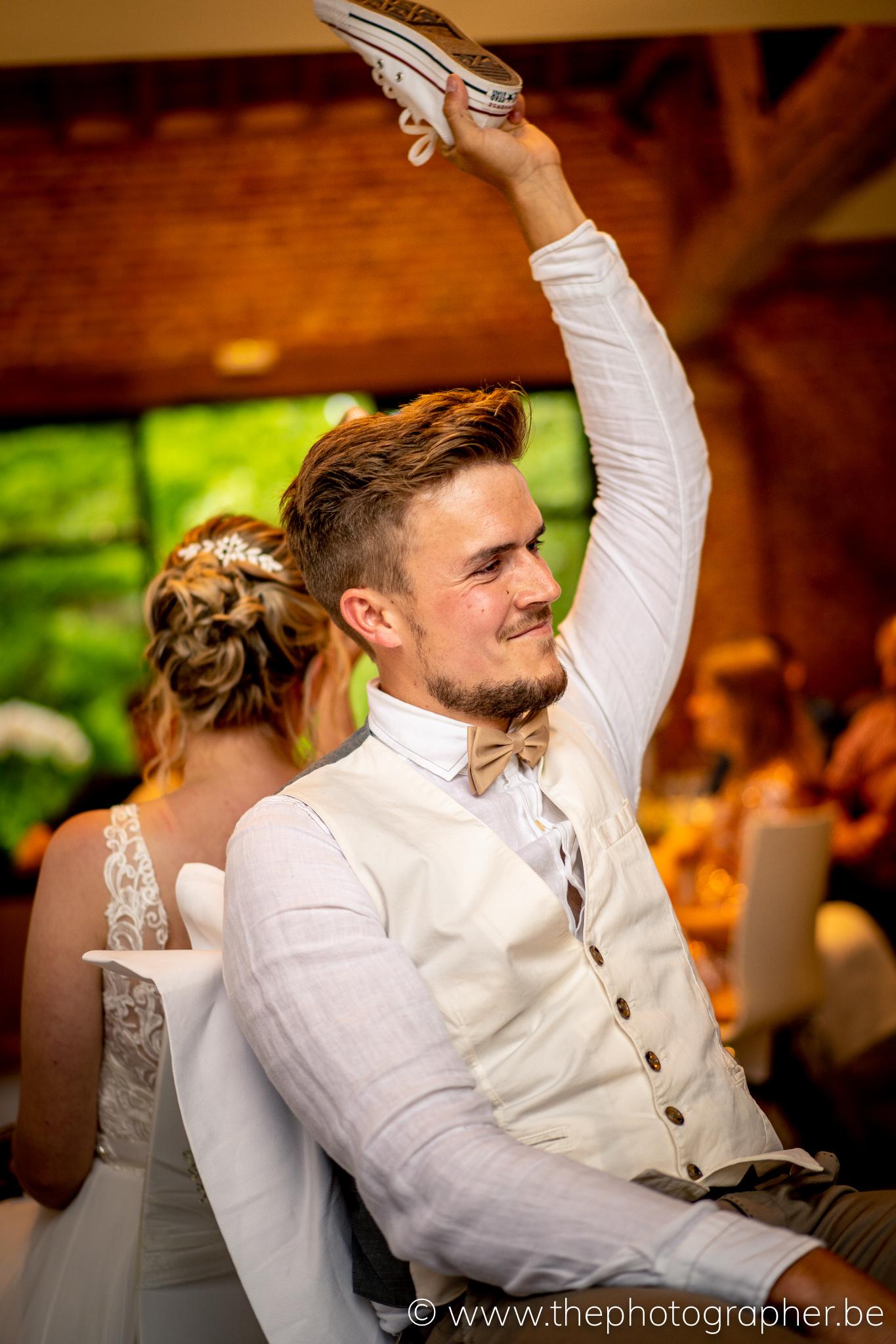 Huwelijk Tine en Jens