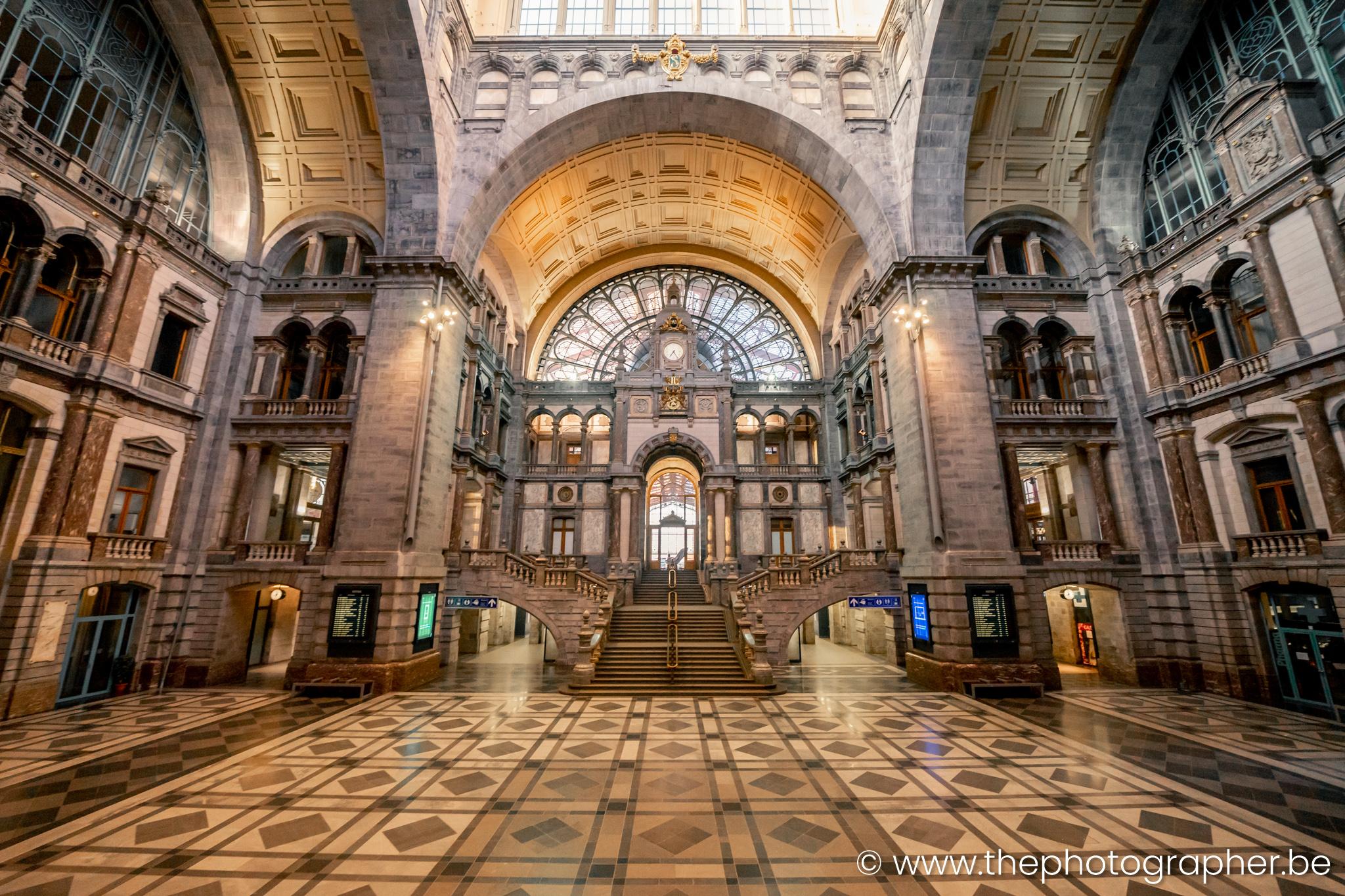 Lonely Antwerp